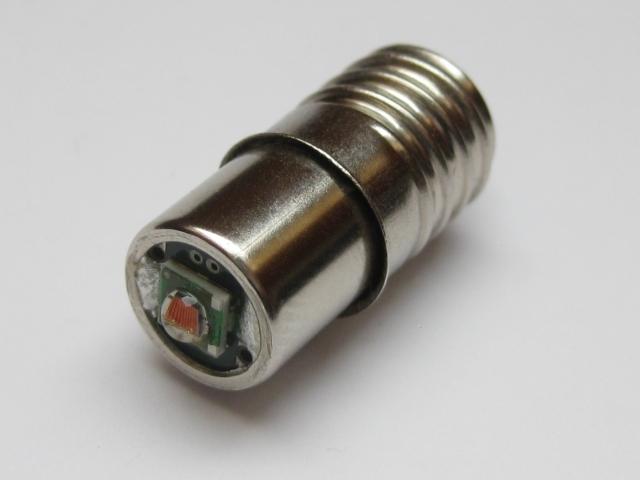 BackLightPro10 - LED-Fahrrad-Rücklicht mit Gewindesockel E10