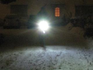 EnLightPro13 beim langsamen Fahren